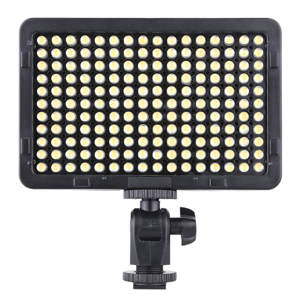 Us 18 93 30 Off Portable Video Studio Photography Light Lamp Panel 176 Leds 5600k For Cannon Nikon Pentax Olympus Camcorder Dslr Camera In