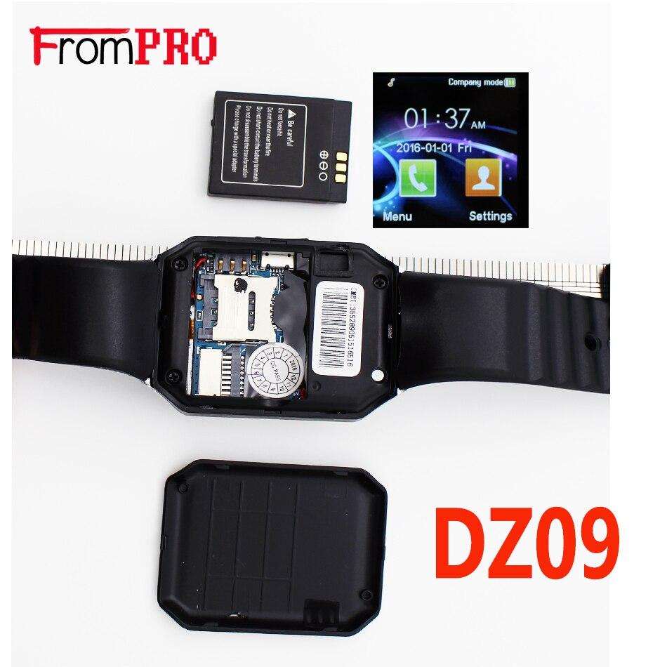 Smart watch dz09 smartwatch bluetooth apoio cartão sim câmera do telefone GSM/TF Dos Homens Relógio de Pulso para IOS Telefone Android GV18 VS U8 GT08