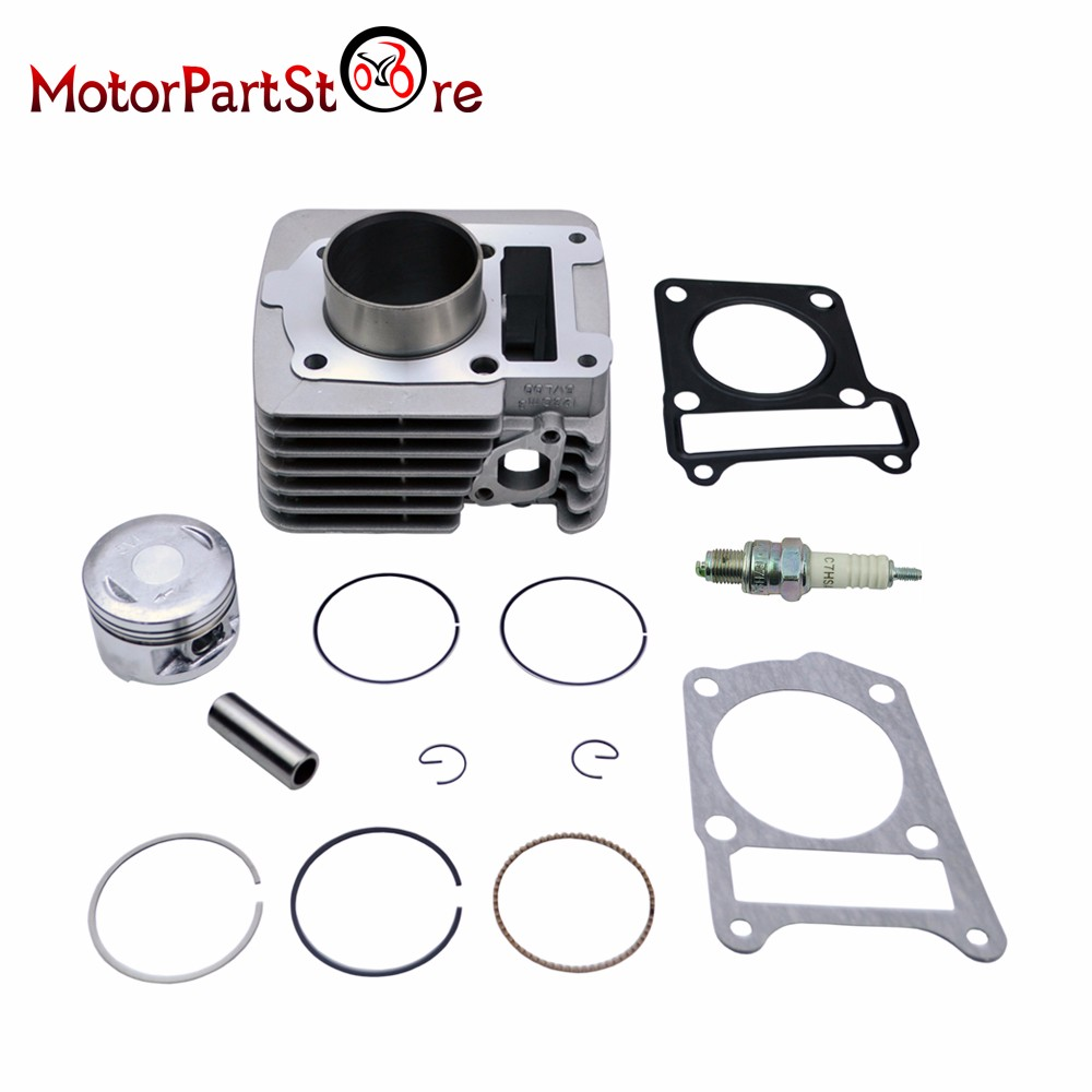 Cylinder Piston Rings Gasket Spark Plug Kit for YAMAHA TTR 125 TTR125 TTR-125 2000-2005 Engine ATV Quad Dirt Pit Bike Part * cylinder kit piston set with rings needle bearing engine pan cap for stihl ms250 1123 020 1209 replaces