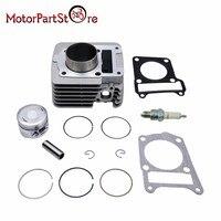 Cylinder Piston Rings Gasket Spark Plug Kit for YAMAHA TTR 125 TTR125 TTR 125 2000 2005 Engine ATV Quad Dirt Pit Bike Part D20