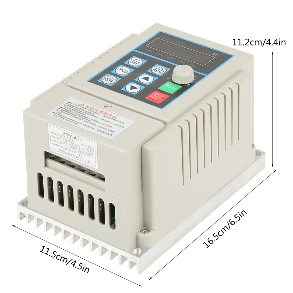 1pc Ac 220v Frequency Inverte 045kw Variable Drive Vfd 1 To 9v Desktop Power Supply We Accept Alipay West Union Tt All Major Credit Cards Are Accepted Through Secure Payment Processor Escrow