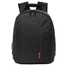 Portable Digital DSLR Camera Bag Waterproof Photo Backpack Double Shoulders Photography Camera Video Bag Small Travel Camera Bag