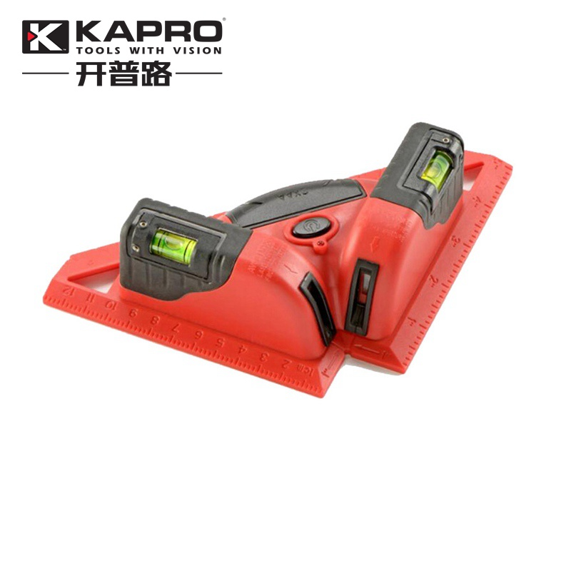KAPRO Laser Level 90 Degree Rectangular Angle Ruler Investment Instrument Laser Line Length Up to 30 Meters kapro clamp type high precision infrared light level laser level line marking the investment line