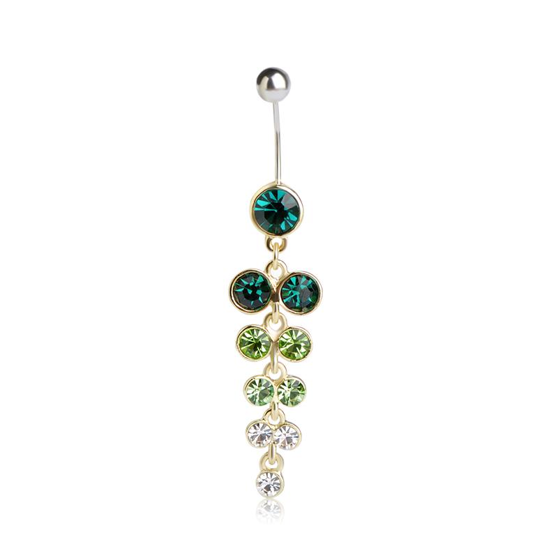HTB1k3taSXXXXXa3XXXXq6xXFXXXf Exquisite Orchid Crystal Bouquet Long Pendant Navel Ring For Women - 3 Colors