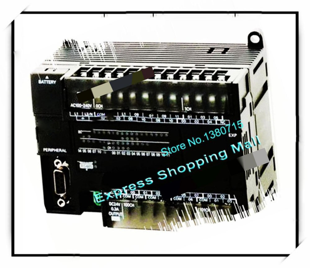 New Original CP1E-N60S1DR-A PLC CPU AC100-240V input 36 point relay output 24 point tweet home