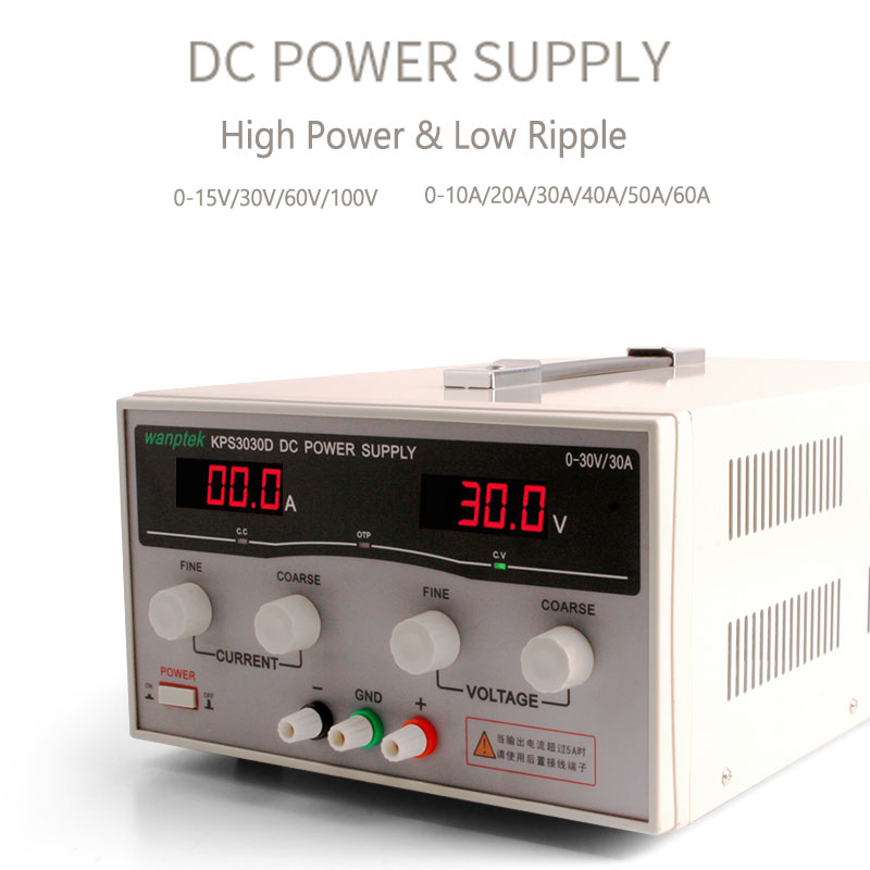 Laboratory scientific voltage regulators adjustable dc power supply 30V 60V 20A Single phase high power switching power supply