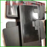 LCD Form form Silikon Laminieren Schwarz Gummi Pad Matte Für iPhone 6/6 S/7/8 Plus X XS Max Touchscreen Reparatur (Keine bend die flex)-in Handy-Touch-Panel aus Handys & Telekommunikation bei