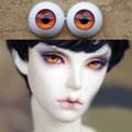 Metal Orange Doll eyes Bjd Eyes for BJD Dolls toys sd eyeball for 1/3 1/4 1/6 8mm 14mm 16mm 18mm 20mm Acrylic EYEs for dolls