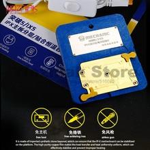 Mekanik IPHONE X XS XS MAX 11 pro promax anakart katmanlı üst ve alt lamine sabit sıcaklık ısıtma masa