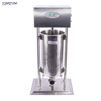 1pc 15L Stainless steel electric sausage stuffer | sausage filling machine