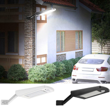 66 LED PIR Motion Sensor Solar Powered Wall Lamp Outdoor Street Light Waterproof Remote Control Garden Wall Light