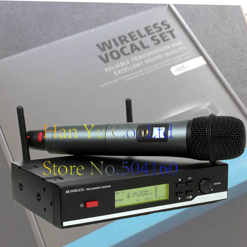 Packet mail XSW35 single channel wireless microphone high end wireless microphone speaker microphone high end uhf 8x50 channel goose neck desk wireless conference microphones system for meeting room