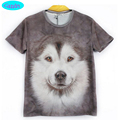 12-18 year teens boys or girls dog T-shirt new arrive Europe and America style cute dog printed 3D tshirt for big kids CT4