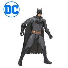 Original DC Comics Toys Justice League Wonder Woman the Flash Batman Superman Cyborg PVC Action Figure Toy Collection Model Doll