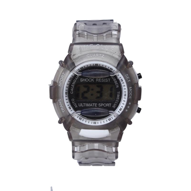 Irissshine #7012 Boys Girls Children Students Waterproof Digital Wrist Sport Watch gift wholesale