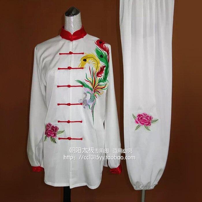 Customize Chinese Tai chi font b clothing b font taiji outfit wushu clothes kungfu uniform embroidery