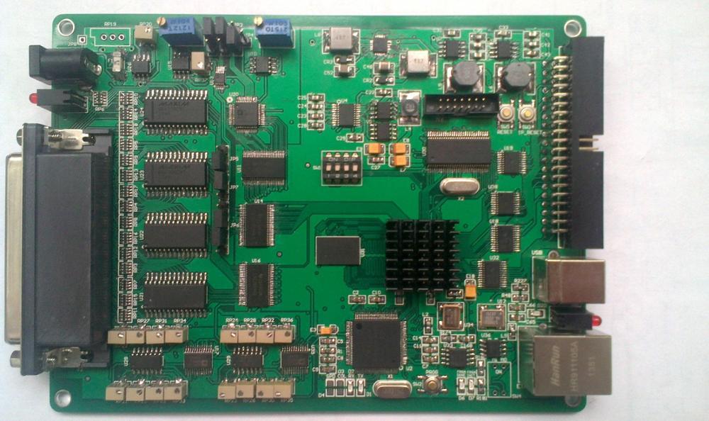 Ethernet +USB2.0, 16 bit 64 road AD-8 road DA-16 road DI-16 road DO data acquisition card