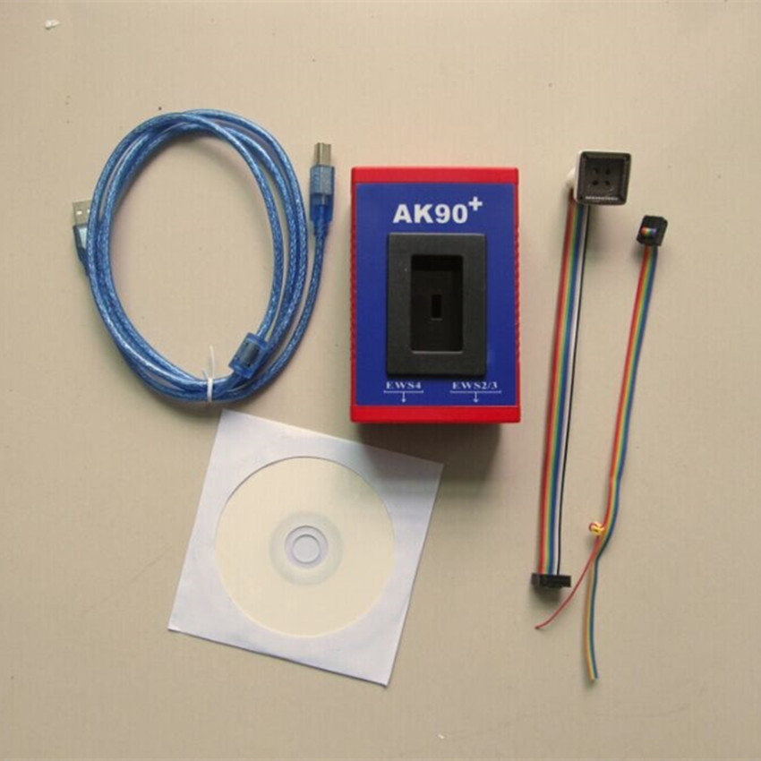 цены  for bmw key programming tool ak90+ v3.19 ak90 auto key programmer for All BMW EWS  Newest Version best quality DHL free shipping
