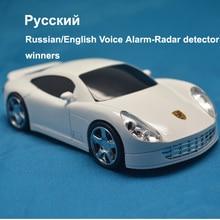 BEST Car detector Anti Police radar 360 degree LED Display Russian & English Voice Alarm Radar Detector Anti Radar Detectors