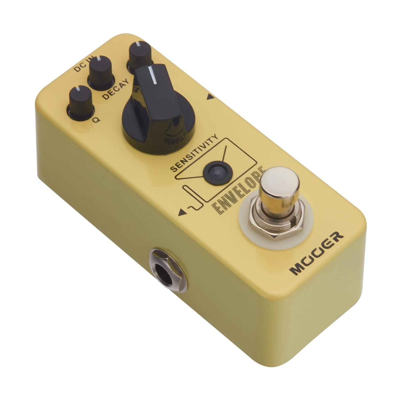 Mooer Envelope Analog Filter Auto Wah Guitar Effect Pedal Q Decay Tone Control MFT4 mooer sweeper bass effects pedal dynamic envelope filter