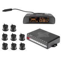 Car Auto Parktronic LED Parking Sensor With 8 Sensors Reverse Backup Car Parking Radar Monitor Detector