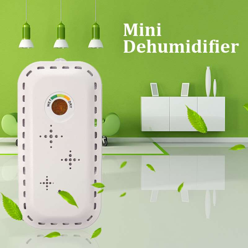 Portable Mini Dehumidifier Electric Quiet Air Dryer  Wireless Rechargeable Dehumidifier For Home Bathroom Office new and improved eva dry renewable mini dehumidifier renewable rechargeable 100% cordless mini dehumidifier no messy spills