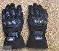 Guantes de moto de Invierno Cálido Impermeable A Prueba de Viento de Protección 100% Guantes Impermeables Luvas Road guantes de Moto guantes