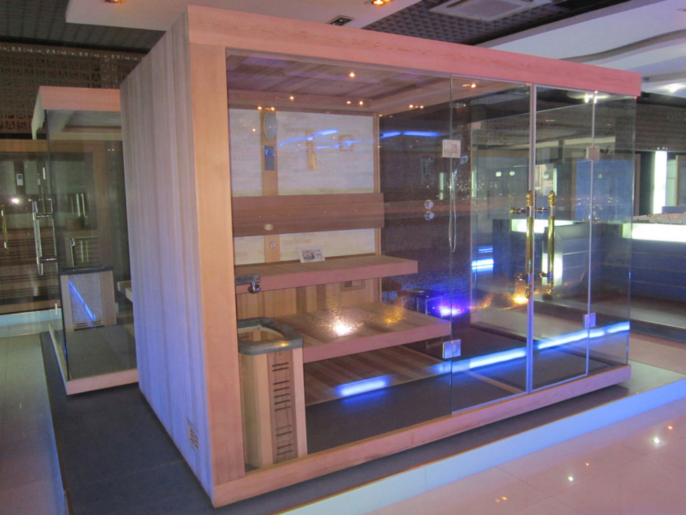 Luxury Outdoor Steam Sauna Room With Shower SA031 In Sauna Rooms From Home  Improvement On Aliexpress.com | Alibaba Group