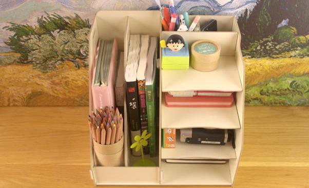 Bookcase shelf desktop file storage box frame express a single frame ...