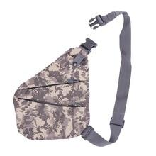 Новая незаметная Мужская Противоугонная нагрудная сумка для альпинизма, Подмышечная нагрудная Персонализированная сумка через плечо