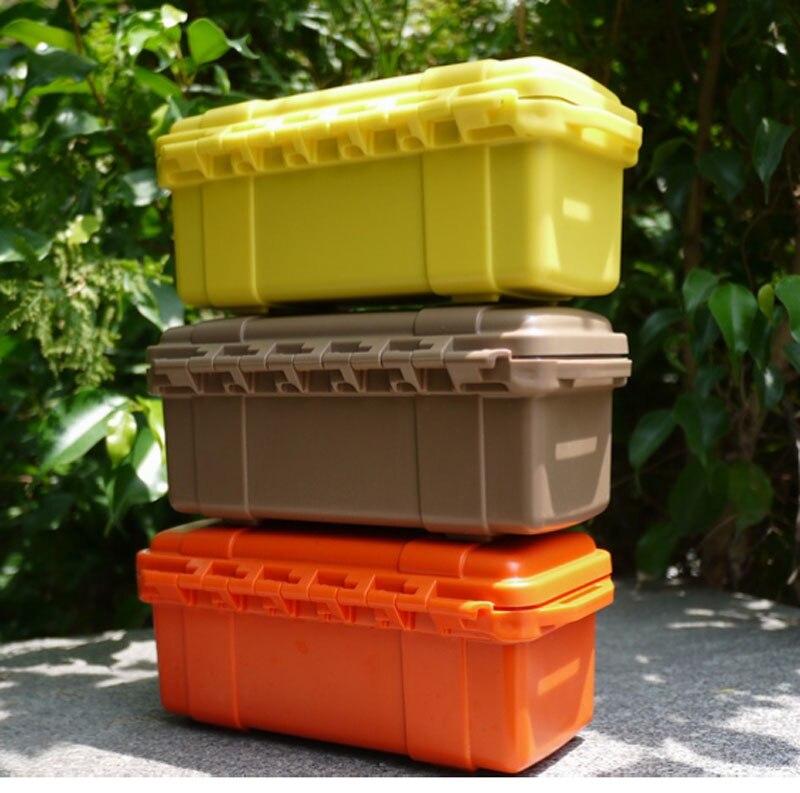 Résistant aux chocs imperméable à l'eau boîtier de rangement coffre boîte extérieure étanche à l ...