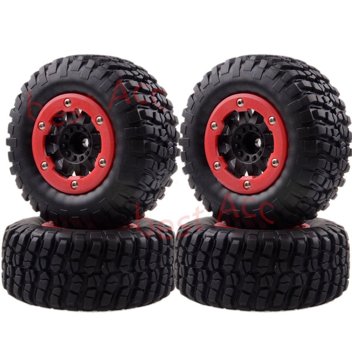 4 pièces jantes & pneus pneus 1182-14 Traxxas Slash 4x4 Pro-Line Racing pour 1/10