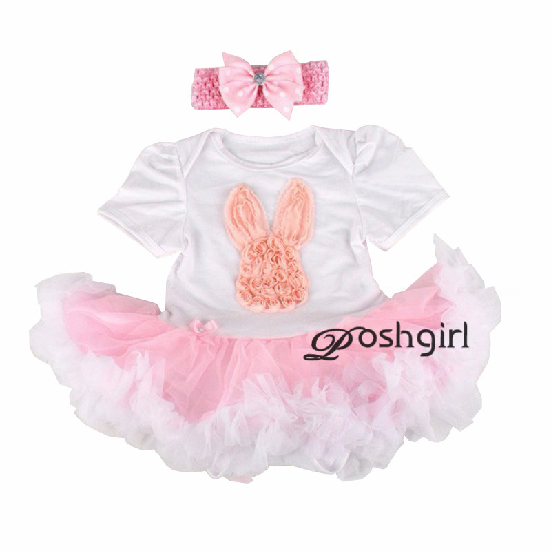New baby girl clothing sets infant easter gifts lace tutu romper new baby girl clothing sets infant easter gifts lace tutu romper dress jumpersuitheadband 2pcs bebe first birthday costumes in clothing sets from mother negle Gallery
