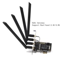 Antennas 802 11AC Wifi BCM94360CD Wireless Network Card With Bluetooth 4 0 OS X Yosemite