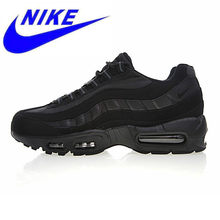 buy online c93bf 28c9a Original NIKE AIR MAX 95 ESSENTIAL Men s Running Shoes,Sports Outdoor  Sneakers Shoes, Black, Non-slip Wear-resistant 609048 092