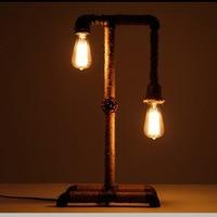 النارجيلة مكتب مصابيح الصناعي لوفت الأمريكية ضوء بار مطعم مقهى مكتب دراسة الجدول خمر مصباح الديكور أضواء حبل