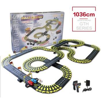 Pista RC 143, juguetes de carreras de coches, aprendizaje y educativo, juguete de pista de construcción DIY, pista de coche de competición creativa, juego familiar feliz