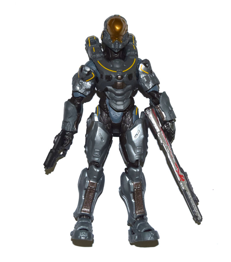 "Halo Universe Series Spartan Vale 6/"" build a figure figurine toy"