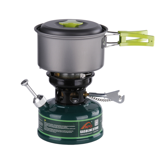 Oil Stove Camping Gasoline Stove Non Preheating With Silencer