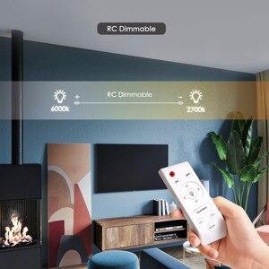 Image 2 - Ultra Thin LED Ceiling Lights Modern Surface Mount Remote Control Lighting Fixture Lamp 110V 220V Living Room Bedroom Kitchen