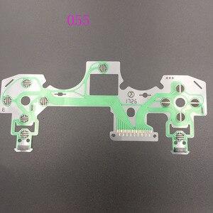 Image 4 - 60 pces botão membrana circuito JDS 040 055 fita placa de circuito para dualshock 4 filme almofada para playstation 4 controlador ps4
