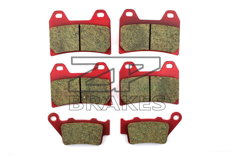 Ceramic Brake Pads Front + Rear For F800 ST Full Fairing 2006-2012 OEM New High Quality ZPMOTO motorcycle brake pads ceramic composite for triumph 800 tiger 2011 2014 front rear oem new high quality zpmoto