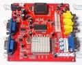 Новое поступление CGA TO VGA конвертер CGA EGA YUV to VGA Красный PCB 2 VGA выход аксессуары части корпуса для аркады ЖК игрового автомата
