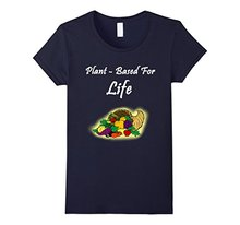 Plant Based For Life Vegan T-shirt