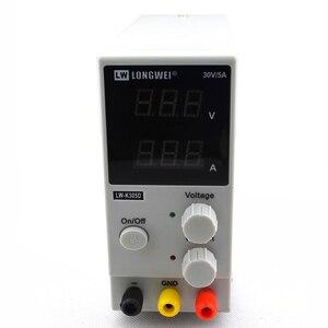 Image 3 - LW K305D 30V 5A Mini Verstelbare Digital DC Voeding Laboratorium Schakelende Voeding 110V 200V en DC jack set