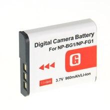 Digital Boy 1Pcs NP-BG1 NP BG1 NPBG1 Camera Replacement Battery For Sony HX30 DSC-W100 W100B Free z1 Real Capacity
