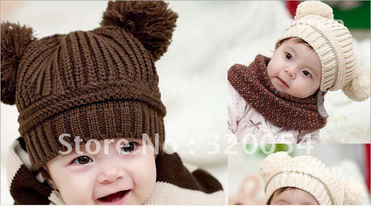 1 шт., новинка, детская шапка, Детская шерстяная теплая зимняя шапка, разноцветные шапки