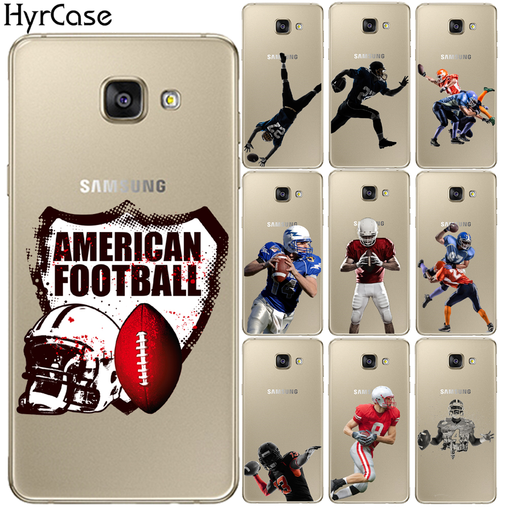 US $1.22 35% OFF American Football Rugby Star Print Soft TPU Case Cover For Coque Samsung Galaxy A3 A5 A7 2015 2016 2017 A7 A8 Plus 2018 Fitted Cases  ...