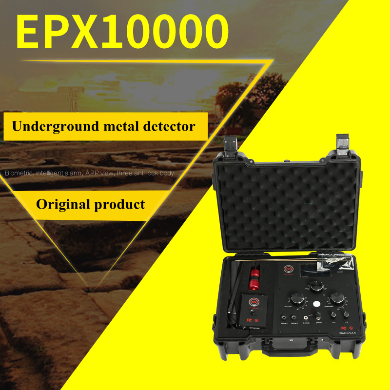 Archaeological EPX10000 metal detector remote radar scan