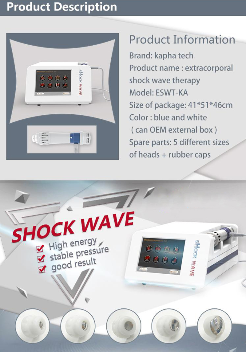 HOT SALE !! Muscle Pain Relief Radial Shockwave Therapy Shockwave Acoustic Wave Therapy Shock Wave Physical Therapy Machine For Sport Injury (2)